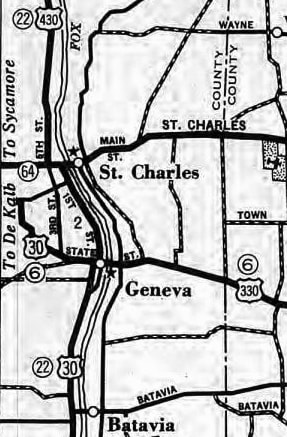 US Hwy Ends In Fox River Valley IL US Ends Com - 1934 us highways map