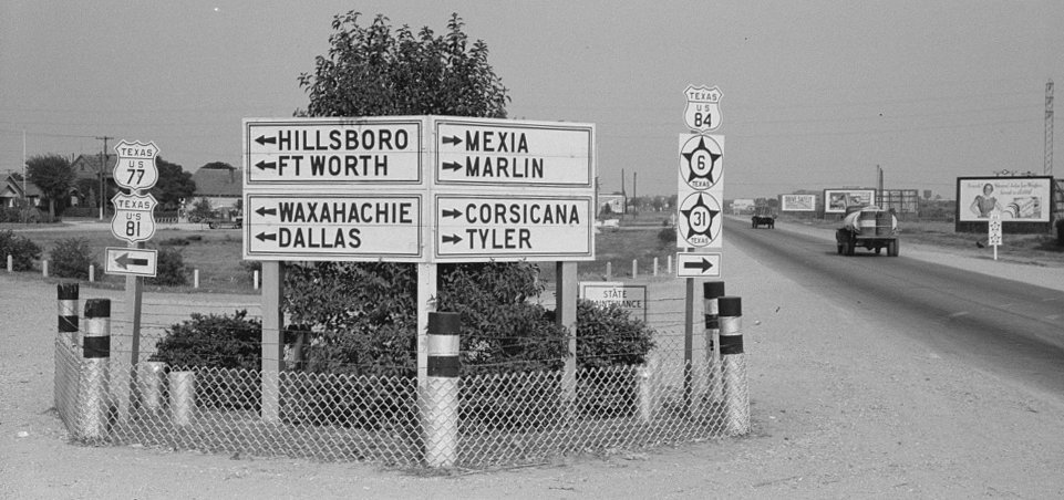Highway history of Waco Texas - US Ends  com